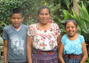 Photo of Martita and her family